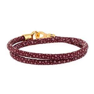 BRACE HUMANITY Custom Stingray Wrap Bracelet